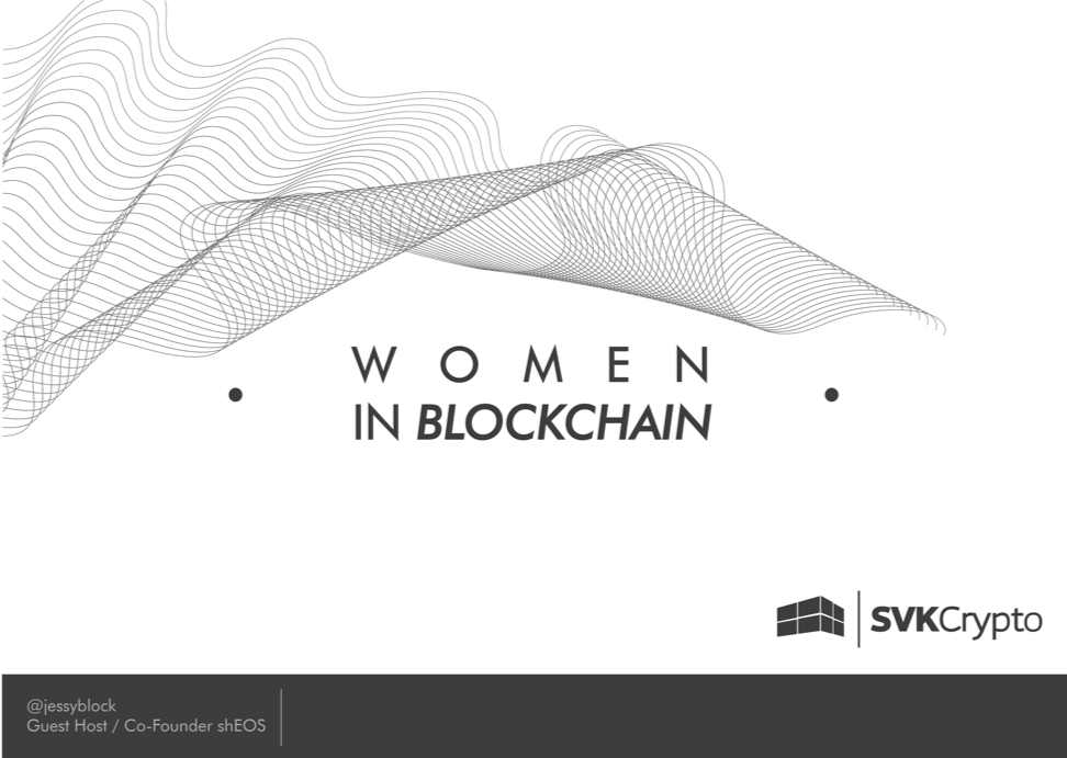 349: WOMEN IN BLOCKCHAIN PART 8 FEATURING THE CO-FOUNDER OF EOS DETROIT - 350