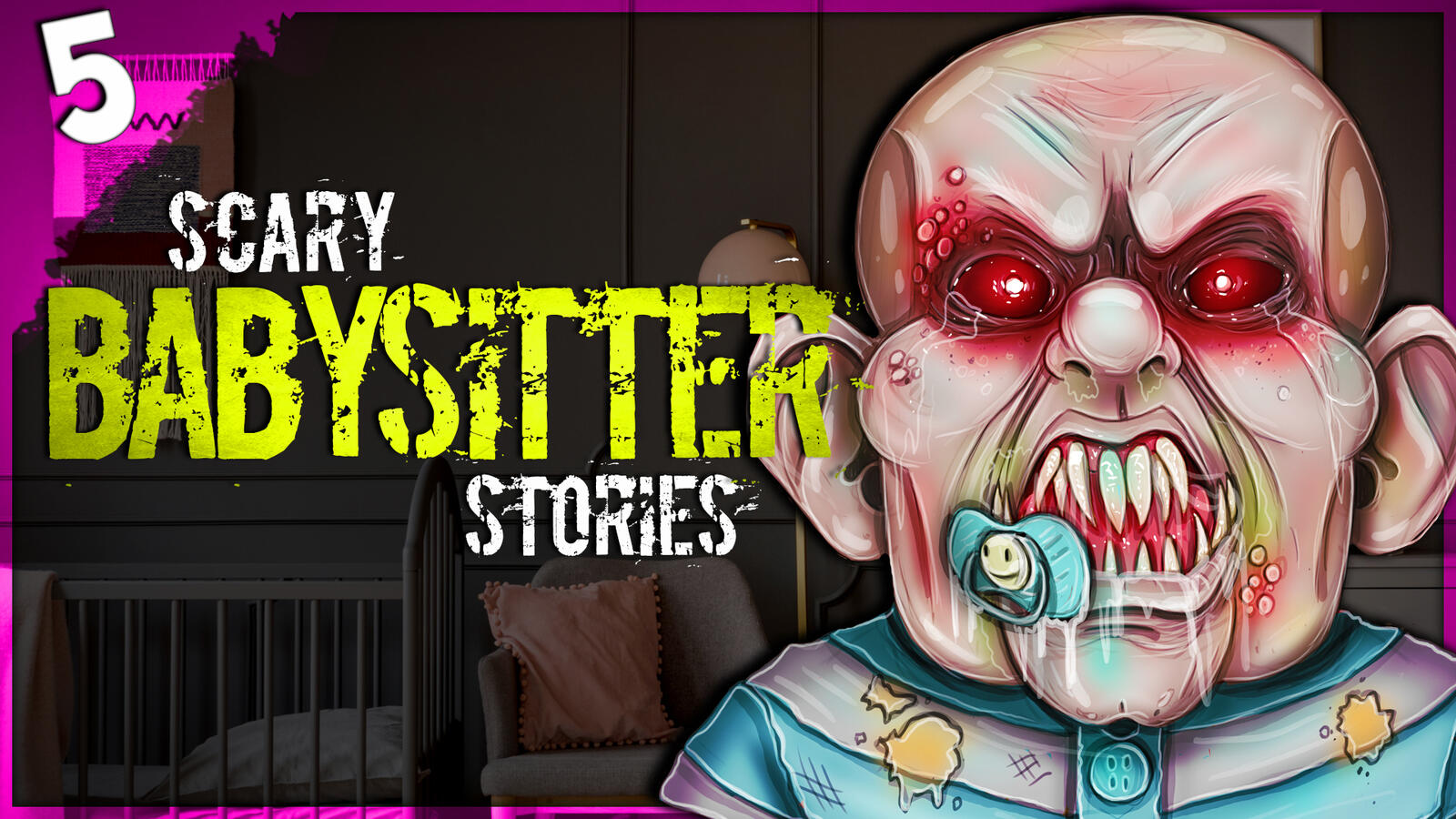 Audioboom / 5 Babysitter HORROR Stories | Darkness Prevails