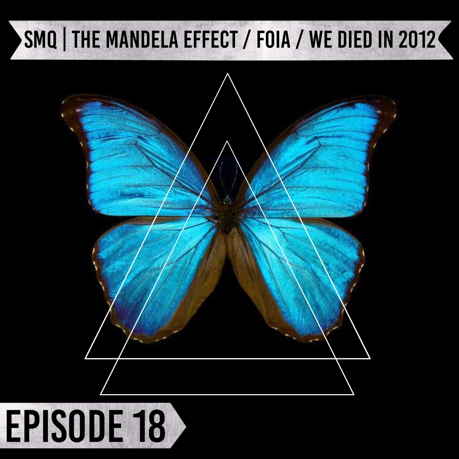 19: Episode 18 | SMQ AI | The Mandela Effect / FOIA / We Died in 2012