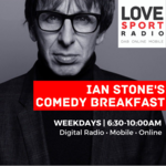 Ian Stone's Comedy Breakfast on Love Sport Radio