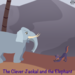 The Clever Jackal and the Elephant Squar format 2500 x 2500