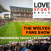 Wolves Fans Show on Love Sport