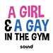 A Girl And A Gay In The Gym