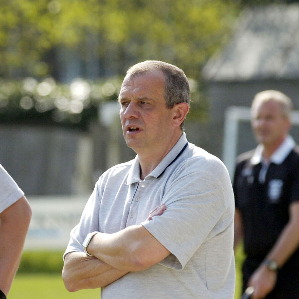 10: Alan Taylor and Bracknell Town