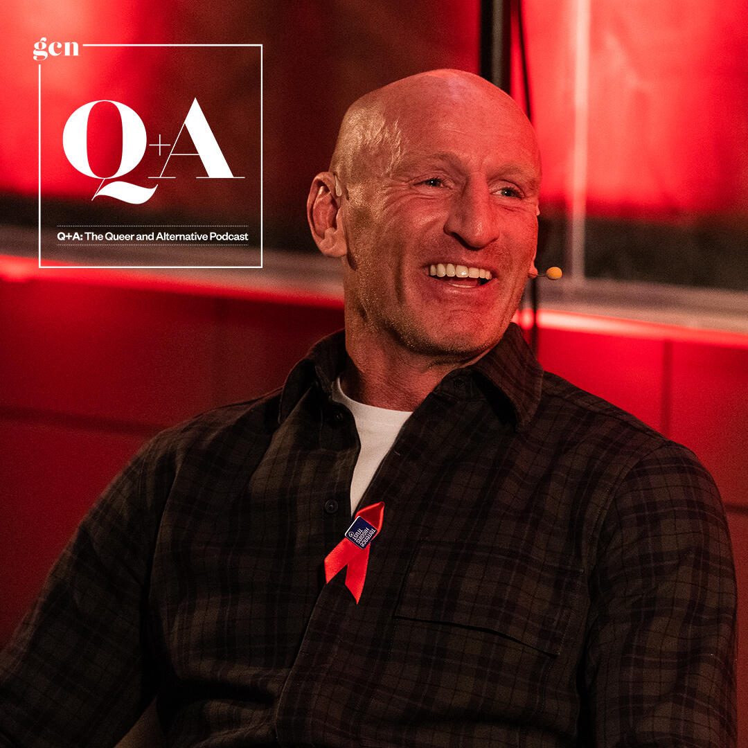 11: Q&A: Gareth Thomas in conversation with Panti Bliss, a World AIDS Day special