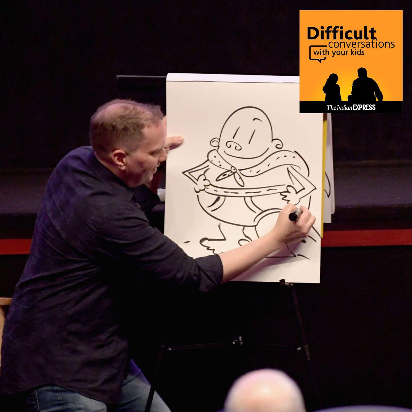 29: Captain Underpants author Dav Pilkey, on growing up with ADHD and dyslexia