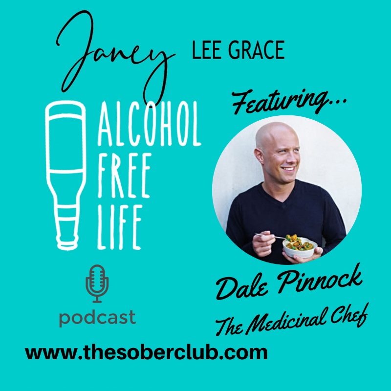 53: Janey interviews The Medicinal Chef Dale Pinnock and talks AF drinks