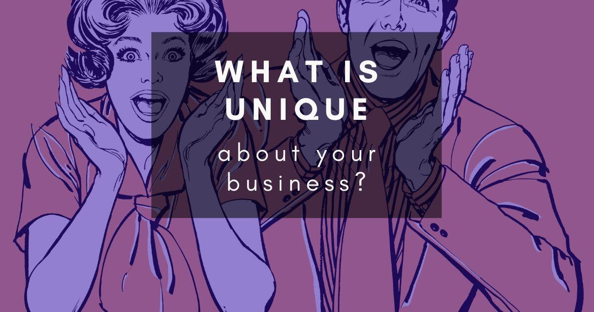 37: What does and doesn't make a business unique?