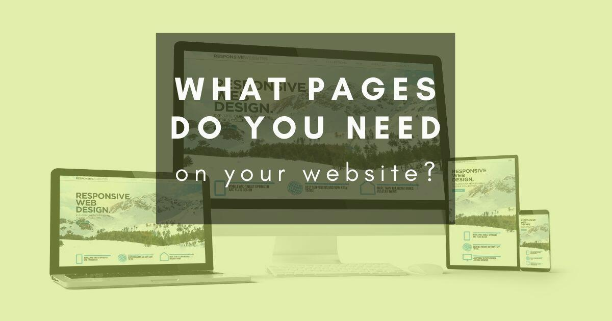 41: What are the must-have pages on a website?