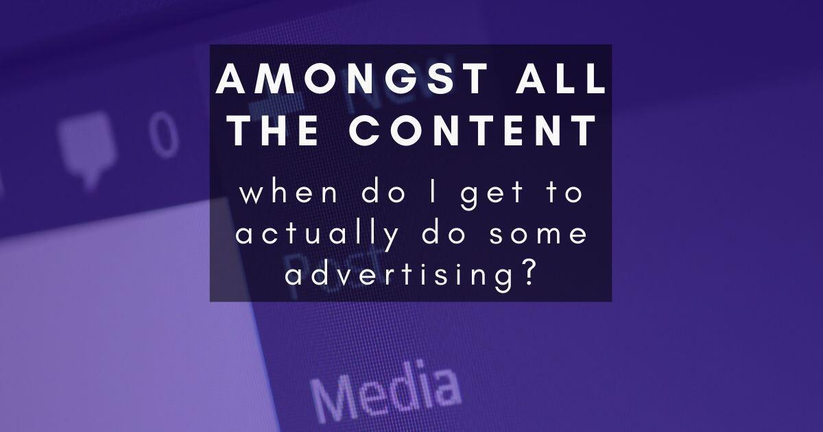 46: When do I get to actually start advertising?