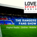 Rangers Fans Show on Love Sport