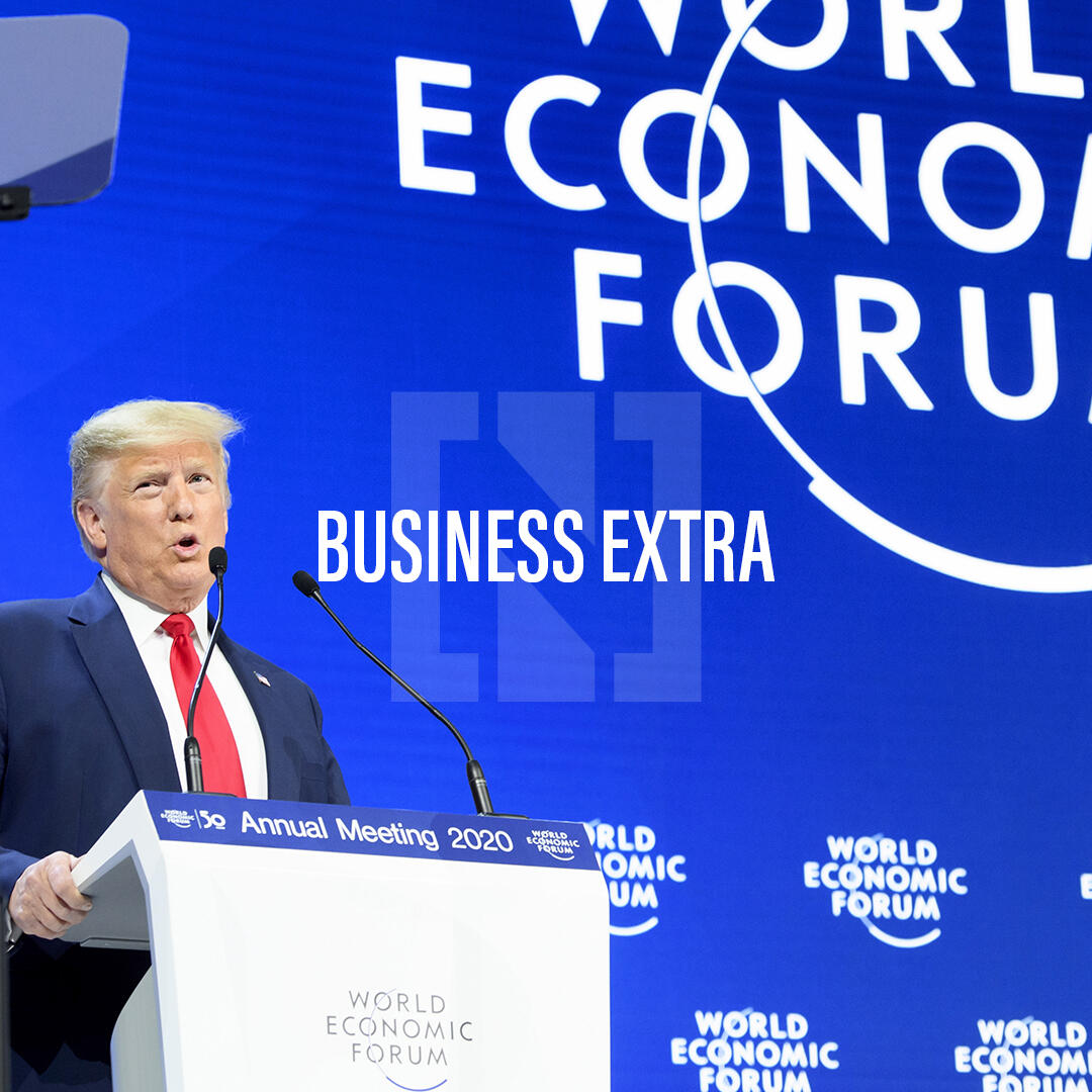 What's happening in Davos?