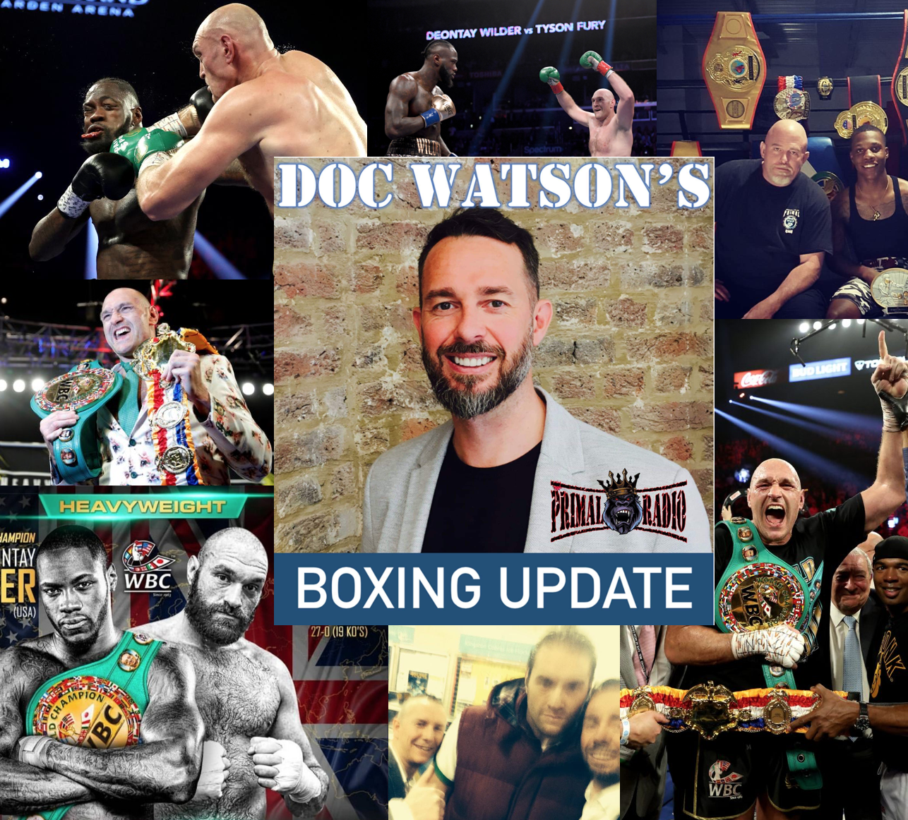 94: #94 Boxing Update - Wilder vs Fury 2 (the one without Doc Watson)