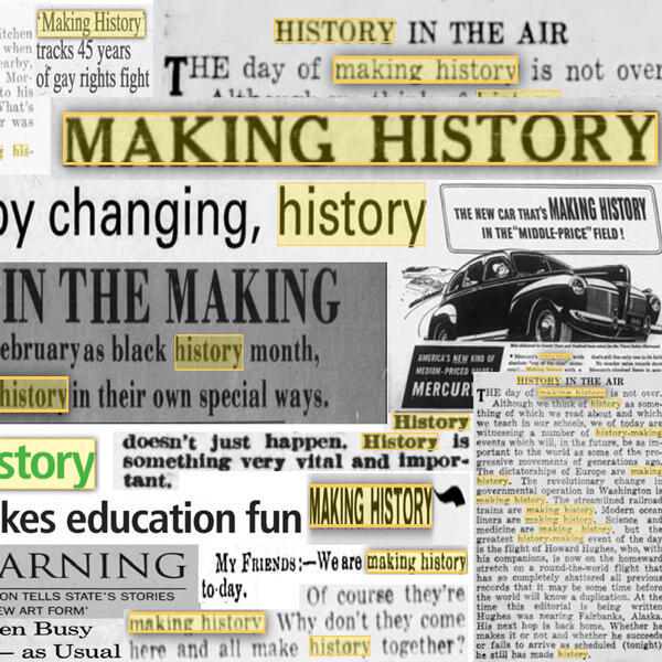 314: People Making History: The Power and Perils of Telling History Through Individual Stories