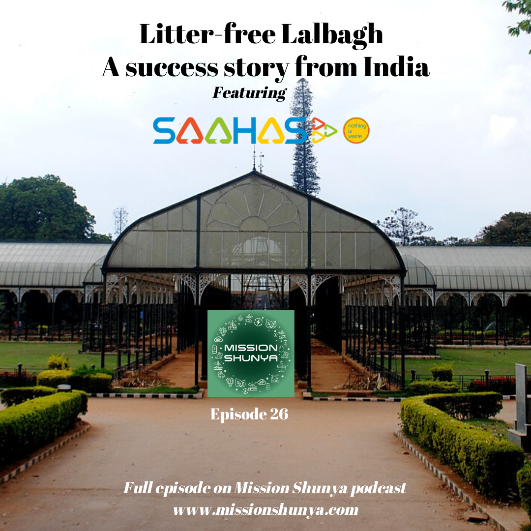 26: Litter-free Lalbagh - featuring Saahas
