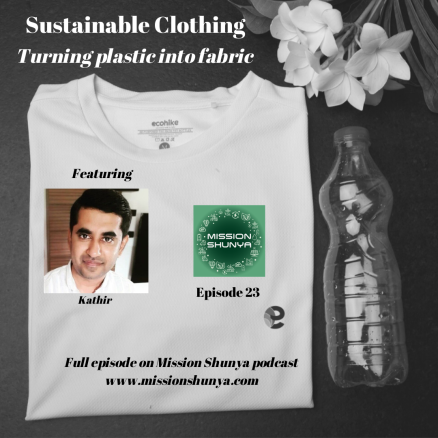 23: Sustainable Clothing: Turning plastic into wearable fabric