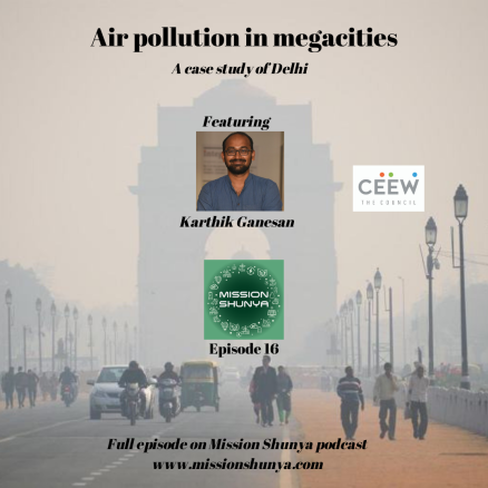 16: Air pollution in megacities: A case study of Delhi