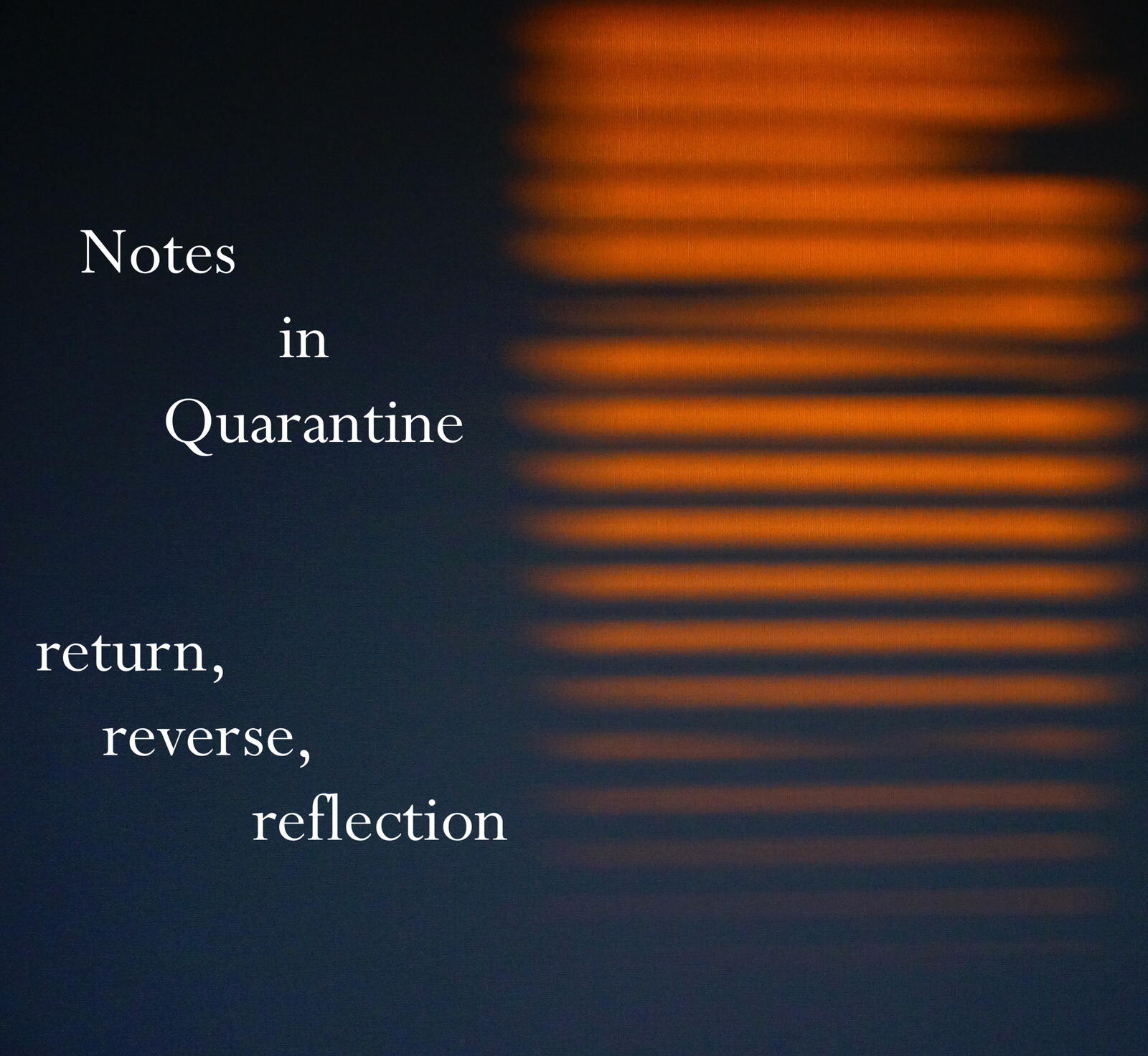 25: Notes in quarantine - return, reverse, reflection