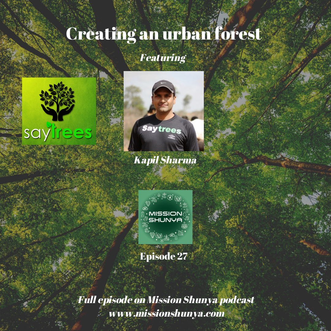 27: Creating an urban forest – the story of 'Say Trees'