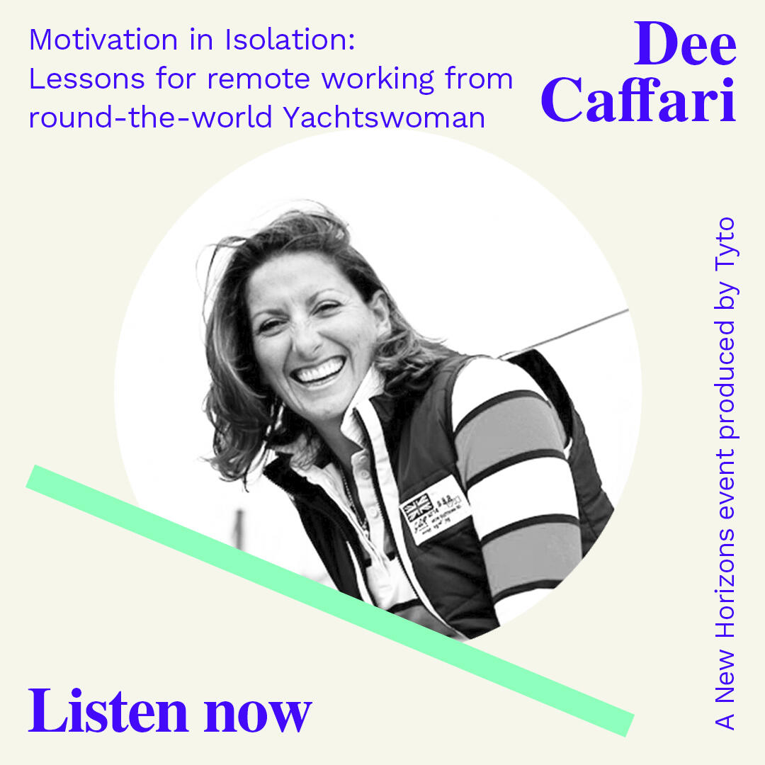 3: Dee Caffari MBE - Motivation in Isolation - New Horizons Special 01
