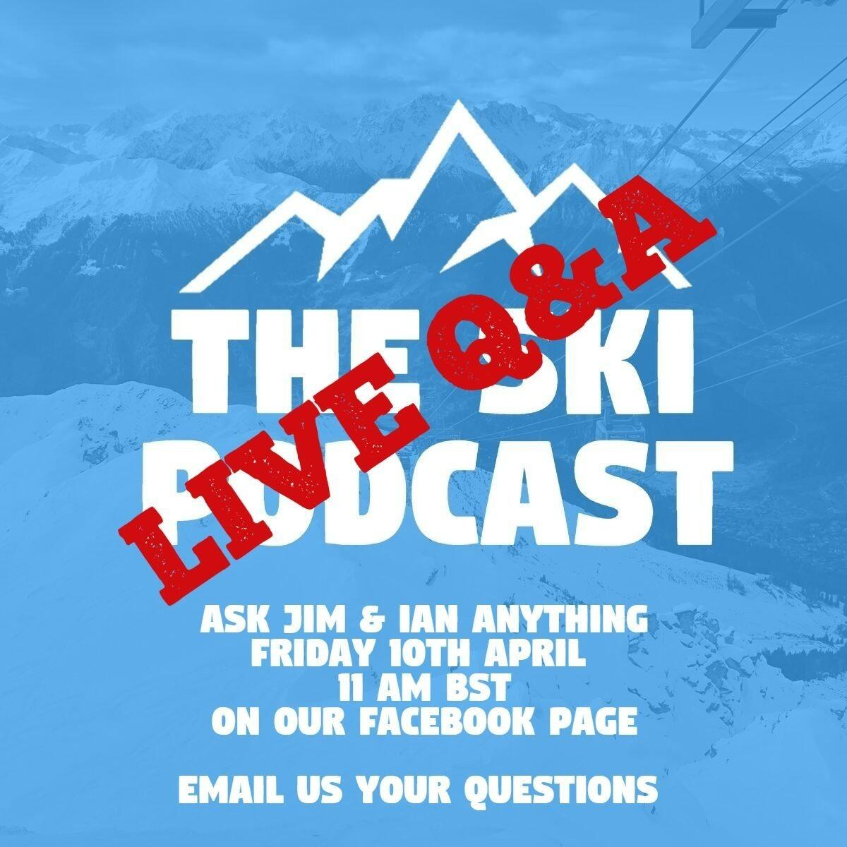 COMING UP - Live Q&A with Jim & Iain