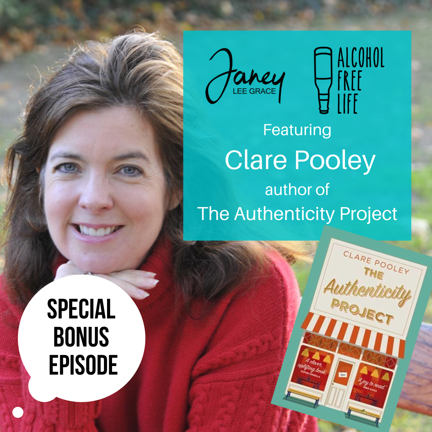 70: Bonus episode Janey interviews C:are Pooley's on her debut novel