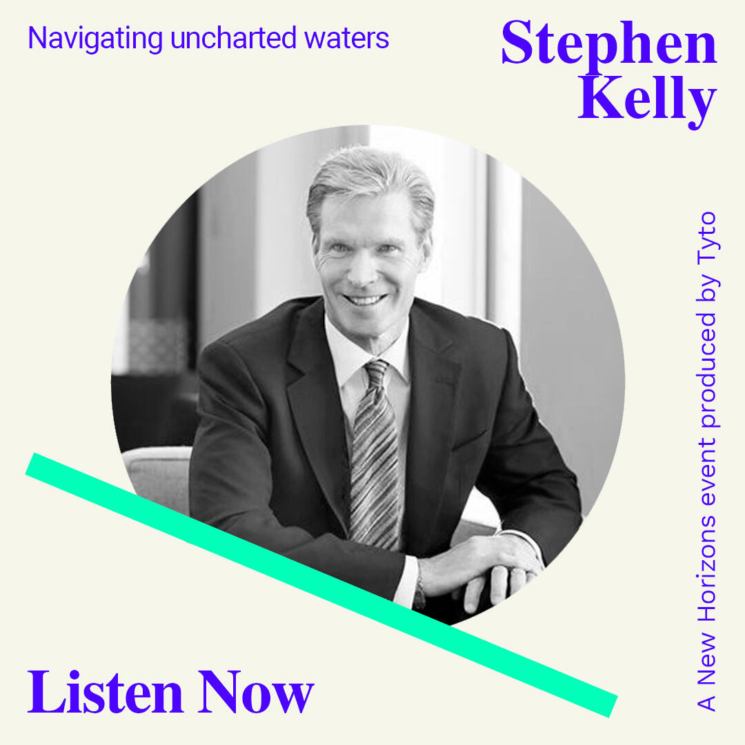 5: Stephen Kelly - Navigating Uncharted Waters - New Horizons Special 03
