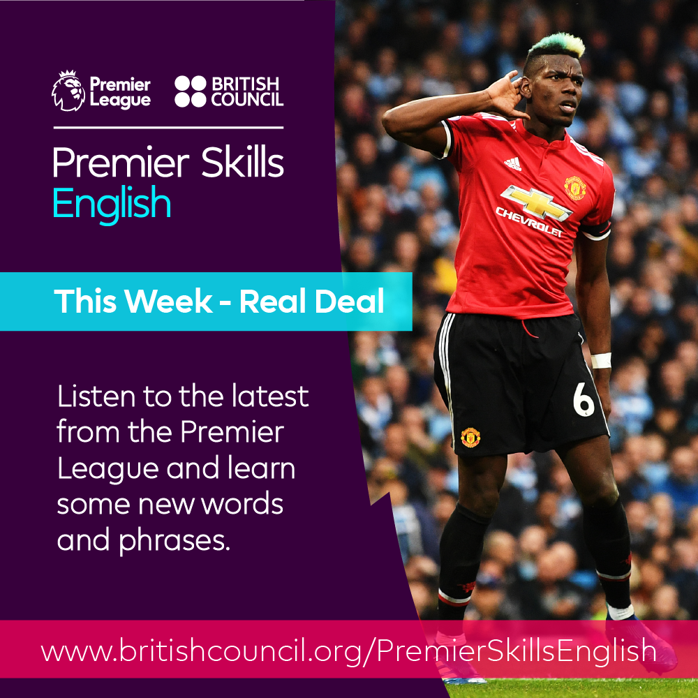 This week - The real deal