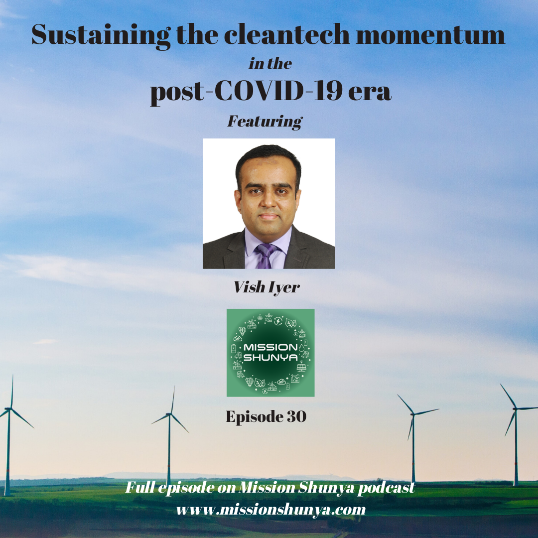 30: Sustaining the cleantech momentum in the post-COVID-19 era