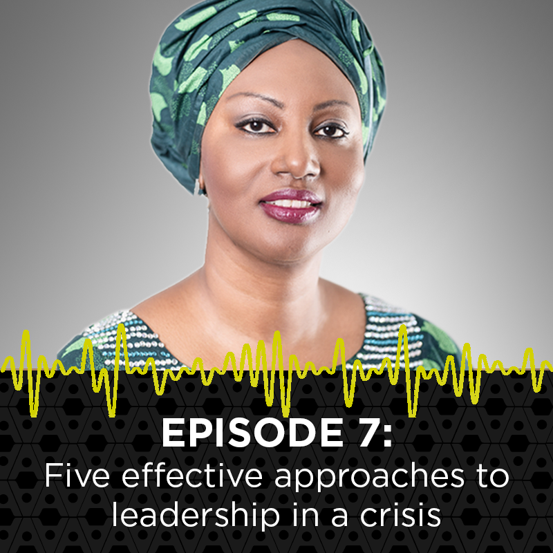 7: Five effective approaches to leadership in a crisis