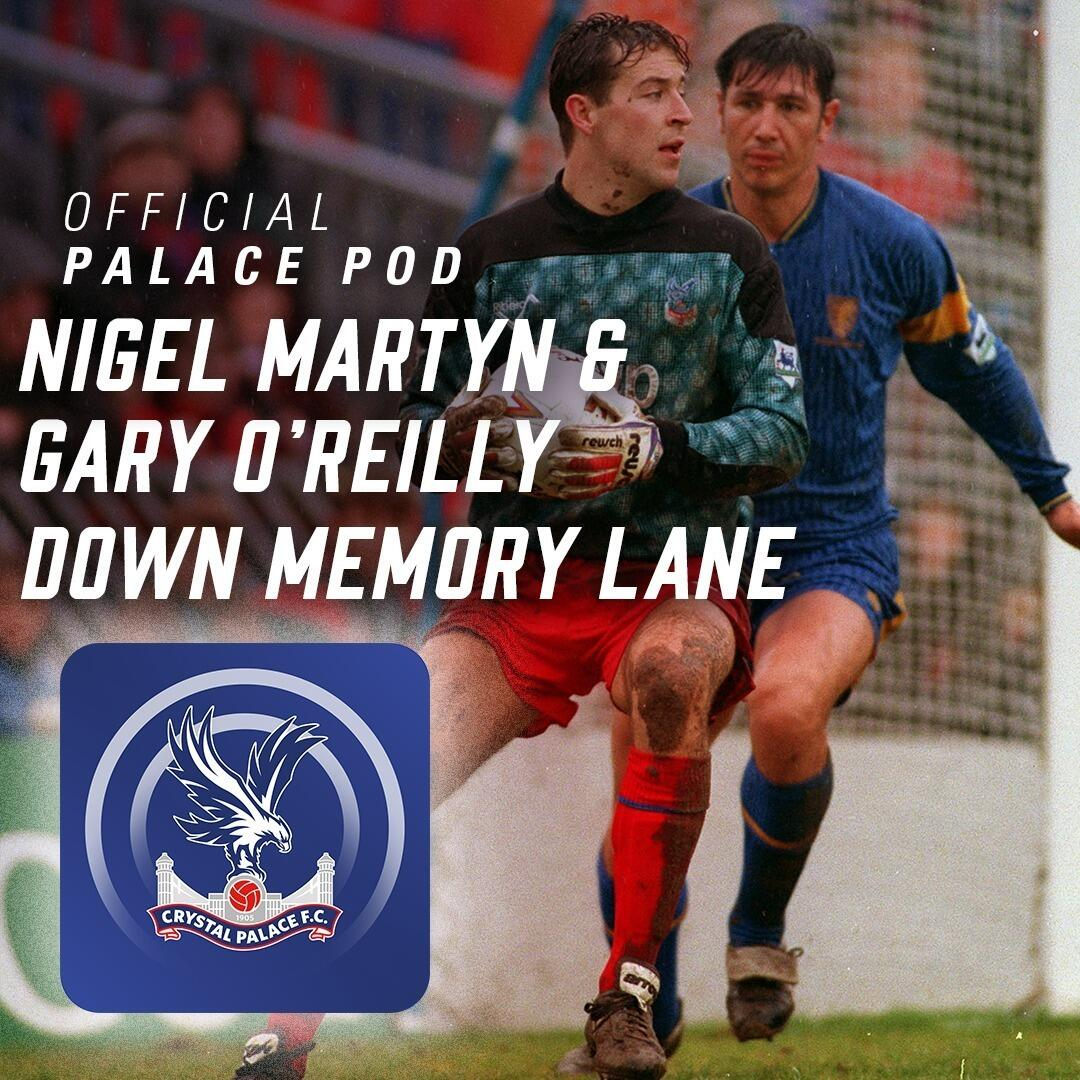 Pod 59 | Nigel Martyn and Gary O'Reilly … Down Memory Lane