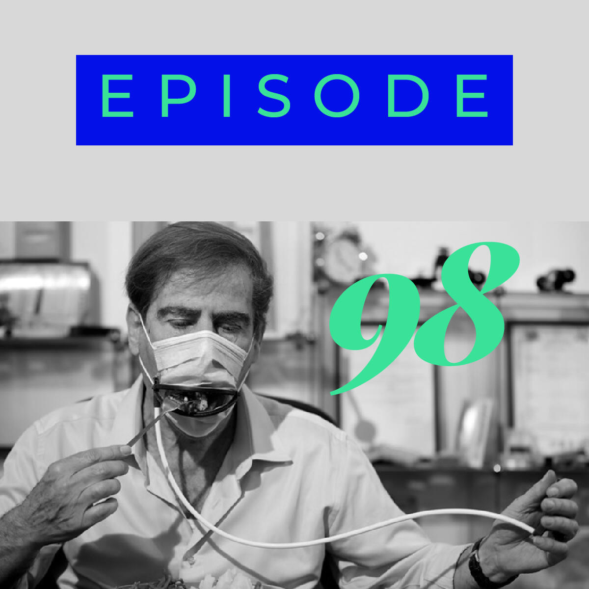 98: Lockdown diaries, The eating face-mask