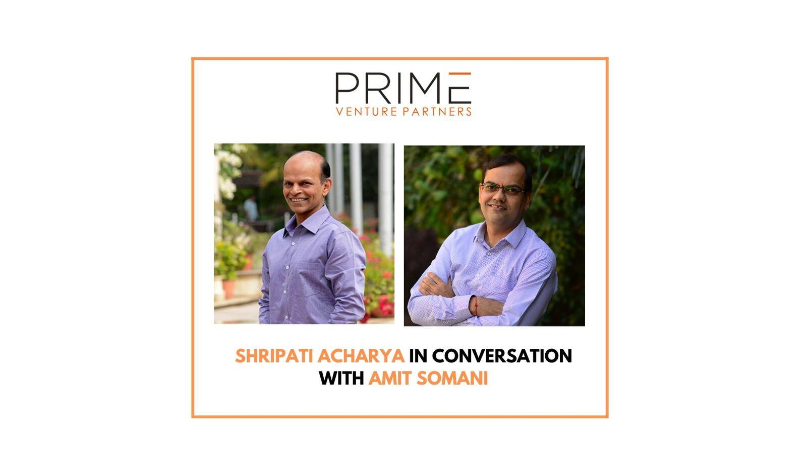 14: Lessons Learned From Investing in Public Markets with Shripati Acharya, Managing Partner at Prime Venture Partners