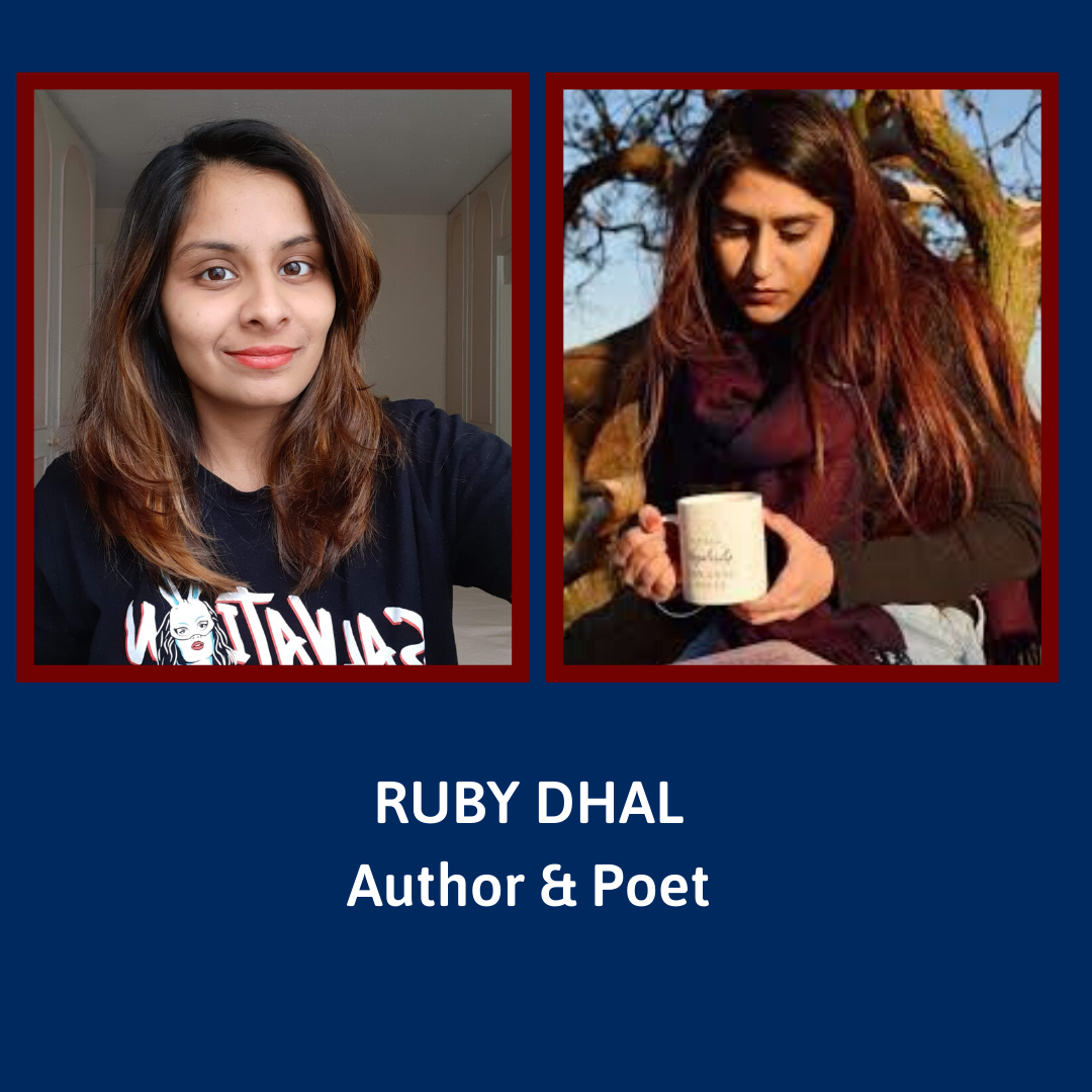 Episode 15 - Ruby Dhal, Author & Poet