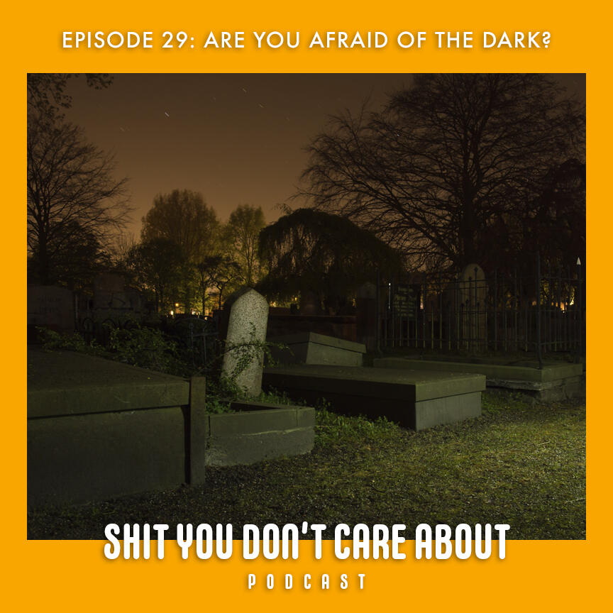 29: Are You Afraid of the Dark?