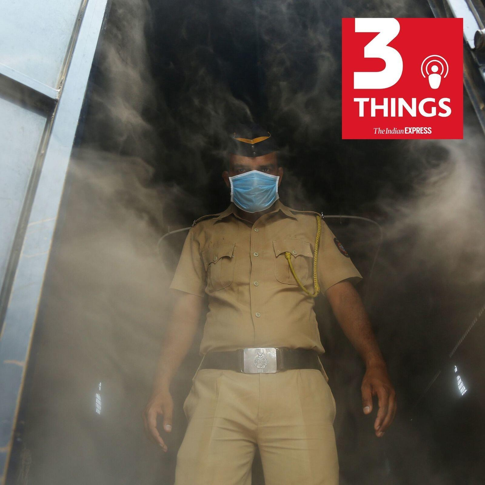 890: The challenges for India's police forces on the frontline against COVID-19