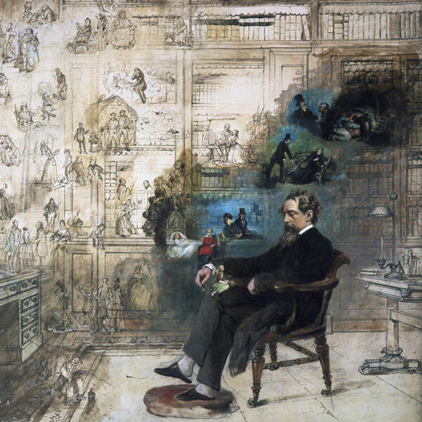 329: Great, Small and Other Expectations: Charles Dickens and His History with America