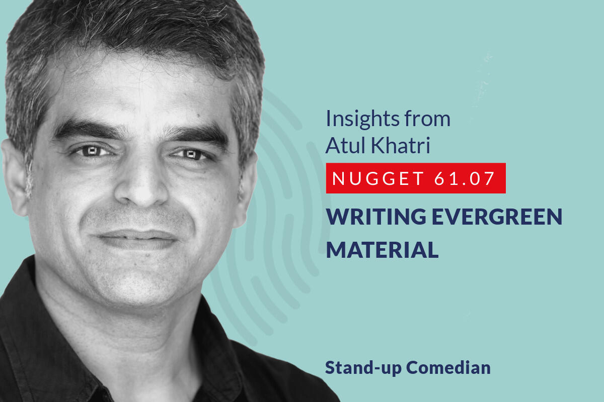 633: 61.07 Atul Khatri - Writing evergreen material