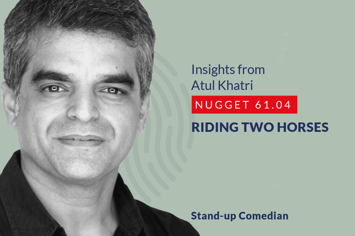 633: 61.04 Atul Khatri - Riding two horses