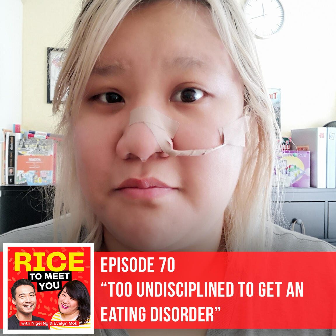 70: Too Undisciplined to get an Eating Disorder