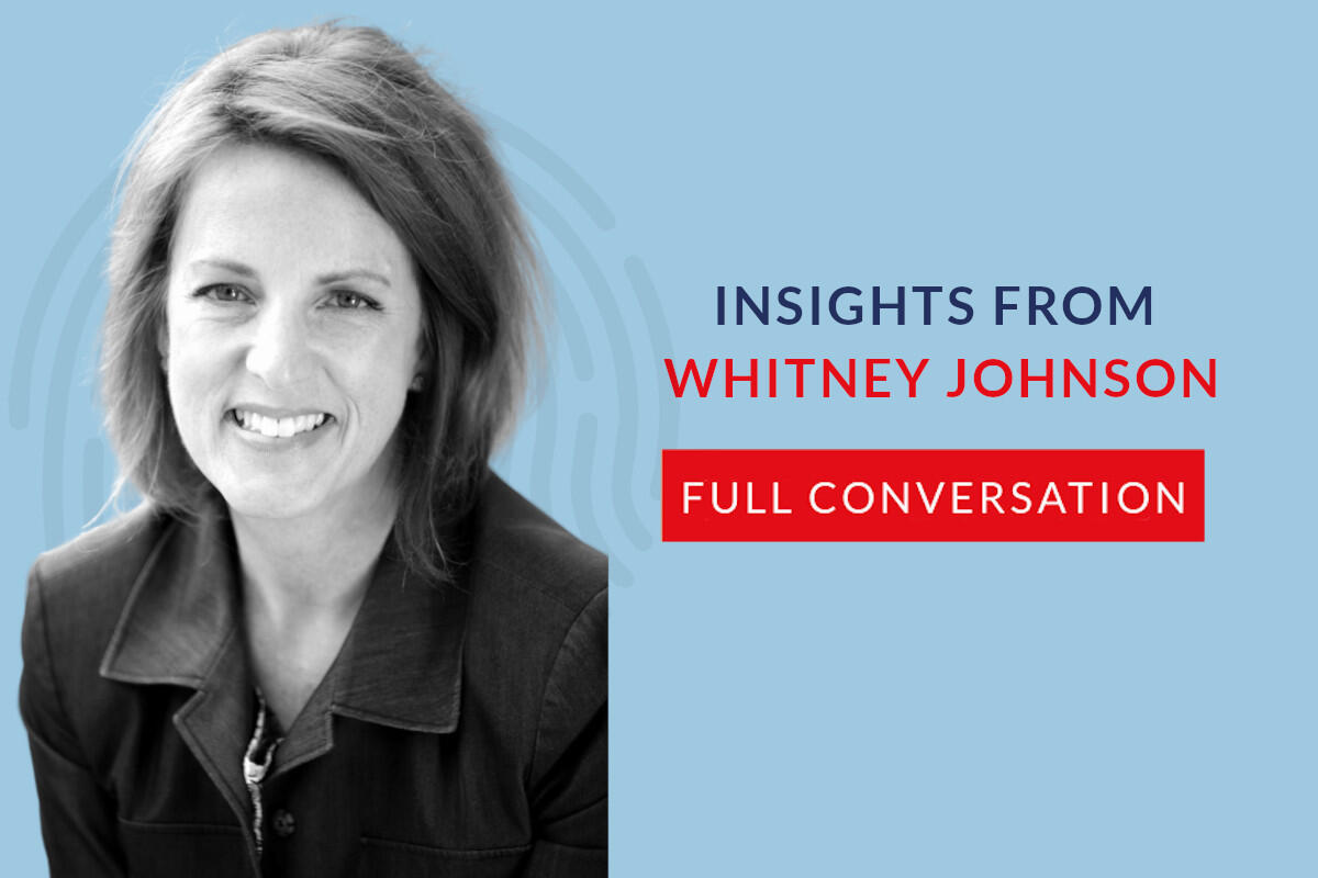 634: 62.00 Whitney Johnson – The full conversation