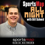 SportsMap All Night with Bill Schmid