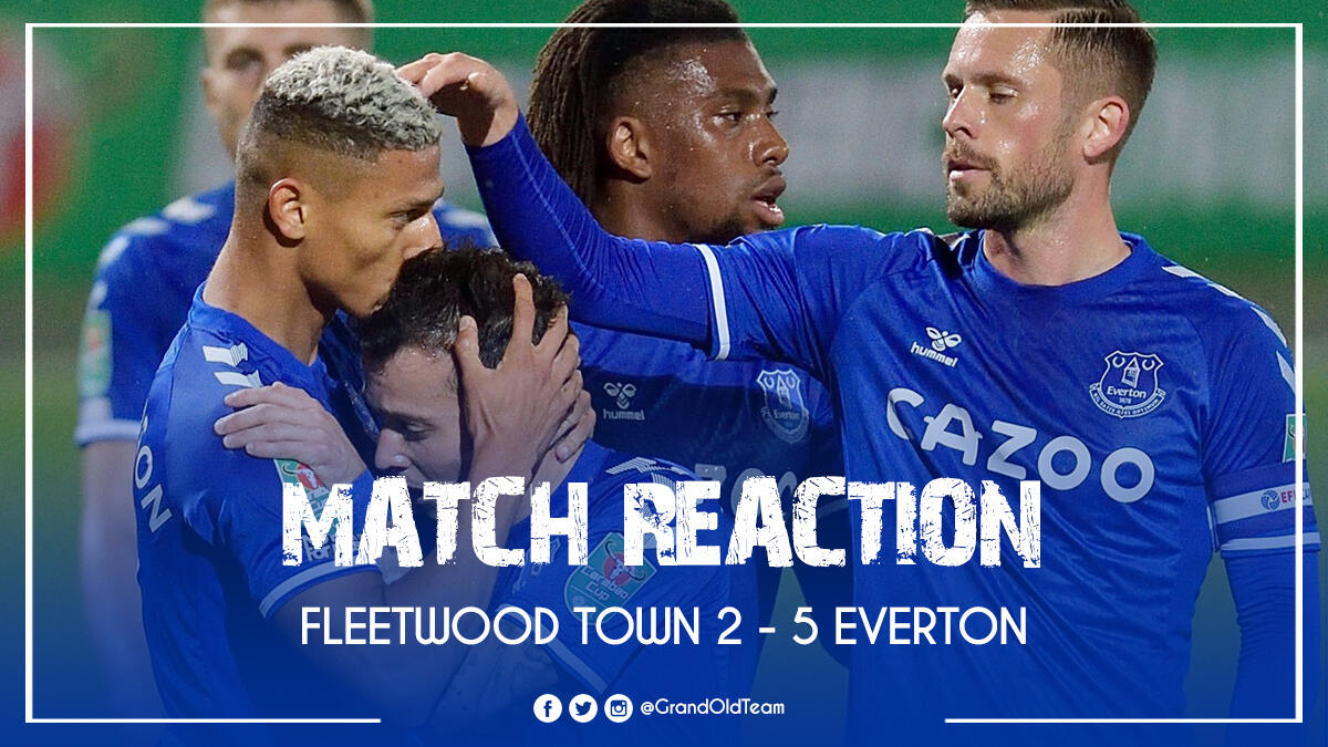 Fleetwood Town 2-5 Everton with Elton Welsby
