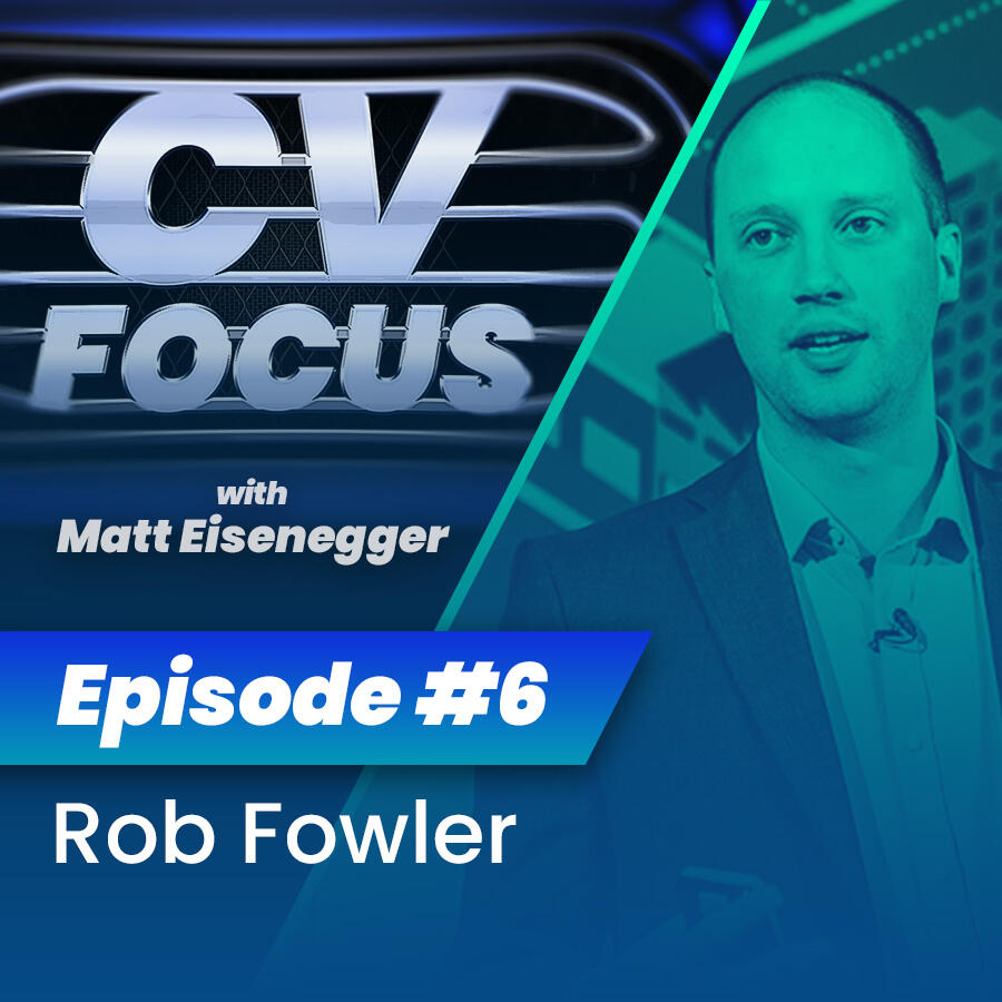 6: CV Focus episode 6 - Rob Fowler