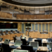 Inside Welsh Assembly Building in Cardiff