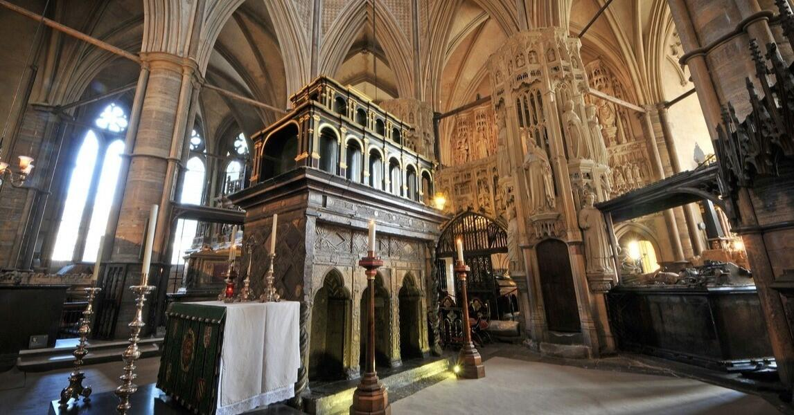 Abbeycast - 'St Edward – King and Confessor': A podcast for the Feast of the Translation of St Edward