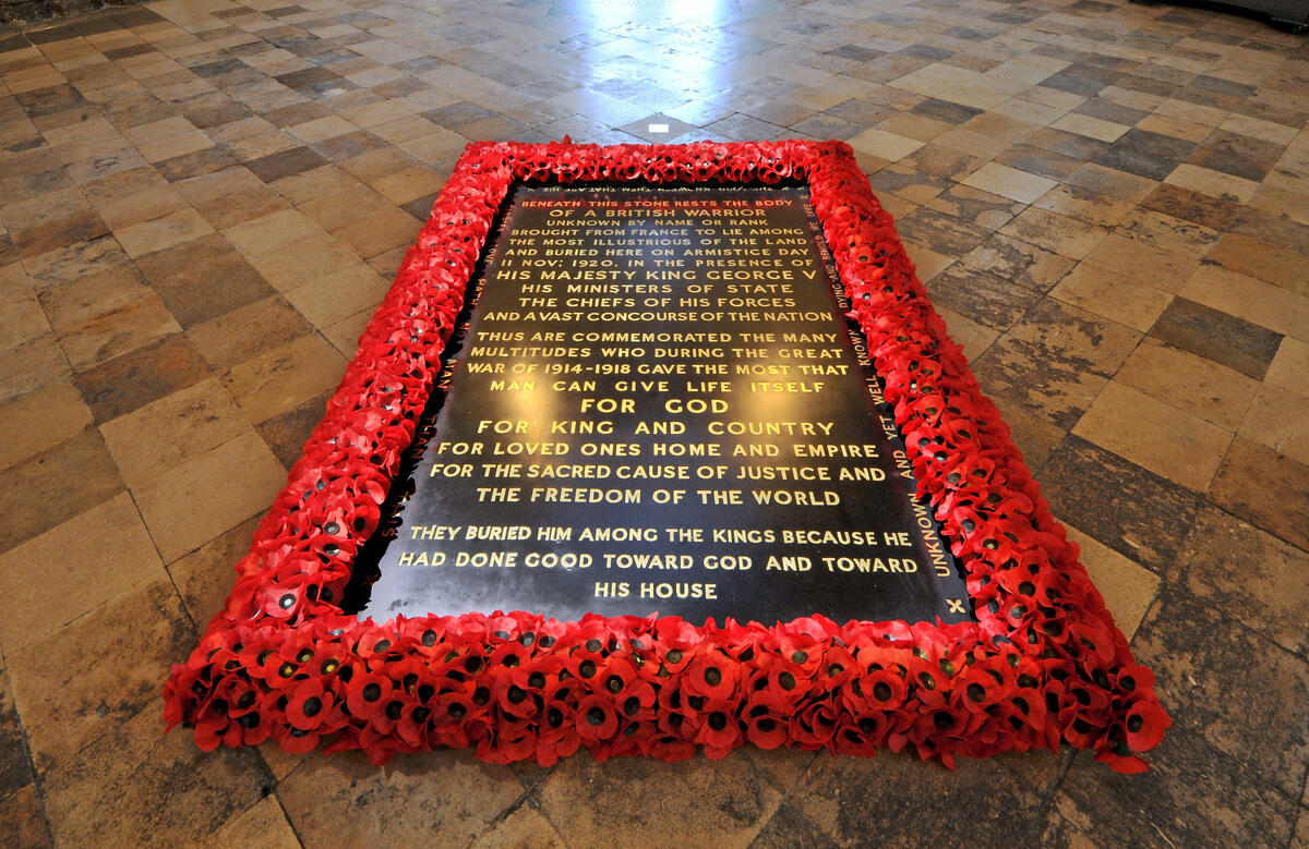 Abbeycast - A podcast for Remembrance Sunday