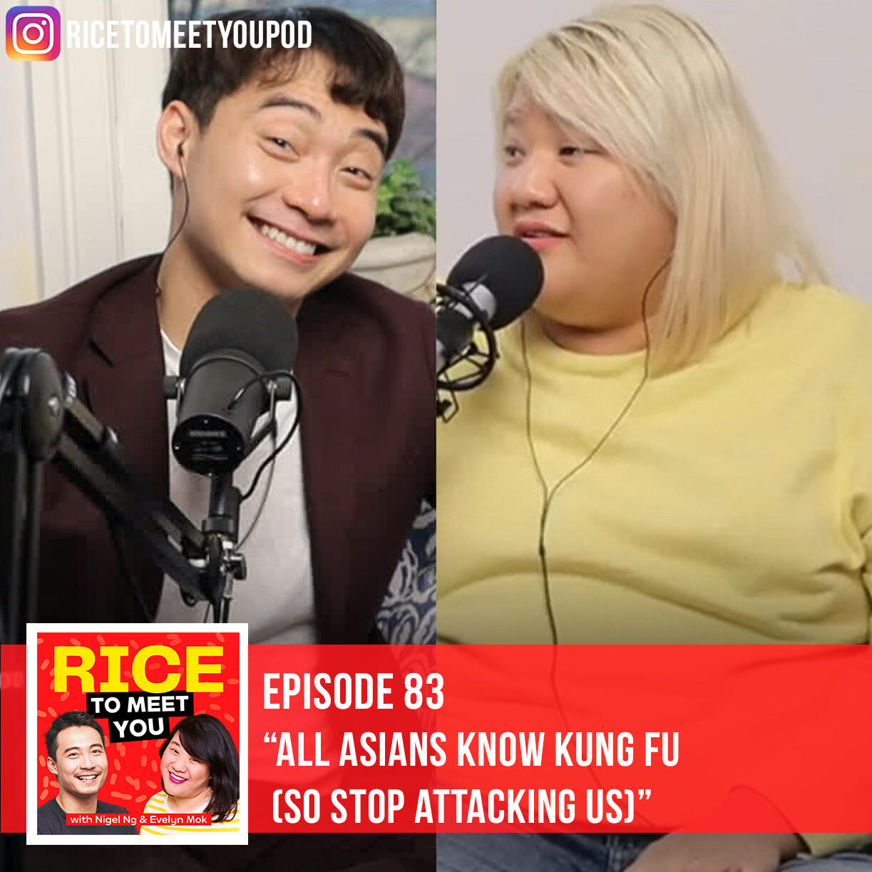 83: ALL ASIANS KNOW KUNG FU (So Don't Attack Us)