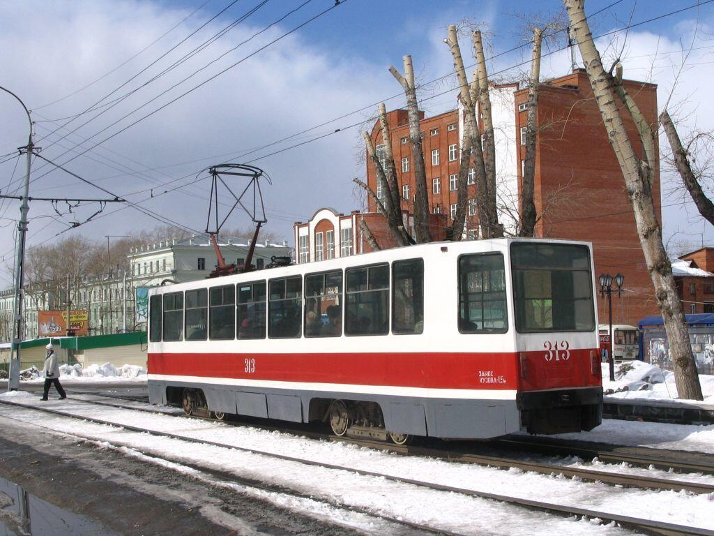 3584: Old streetcar, Russia