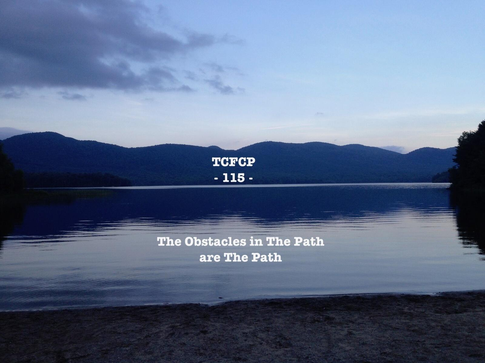 115: EPISODE 115 - The Obstacles in The Path are The Path
